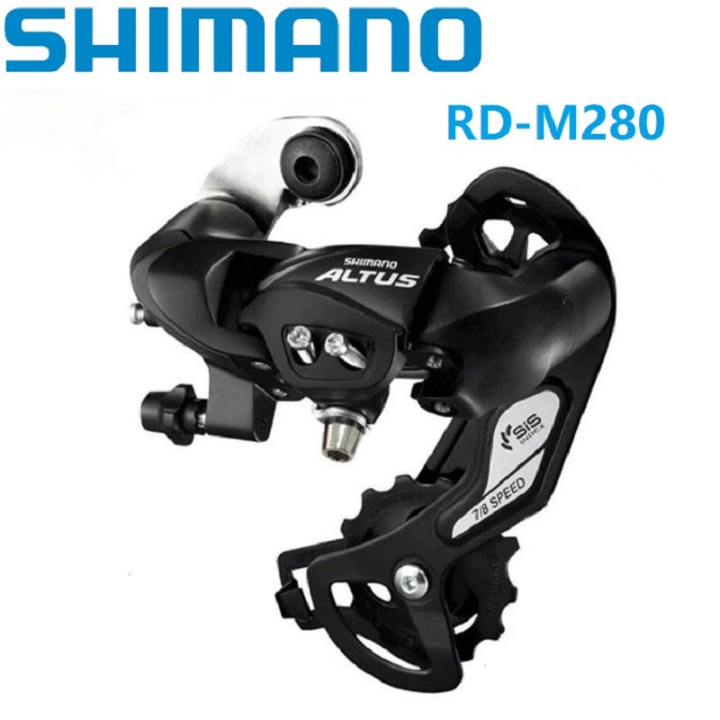 Clever Shimano A L T U S M280 6 / 7 Speed Rear Derailleur 21/24 Speed Mtb Mountain Bike Accessories