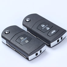 Черный Автомобильный складной ключ сменный Корпус ключа дистанционного