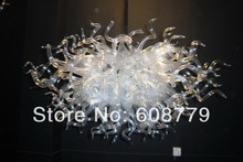 Free Shipping Modern Acrylic Blown Glass Murano Chandelier  стоимость