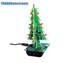 2pcs christmas trees led diy kit professional red green flash led circui - Christmas Trees For Sale Cheap