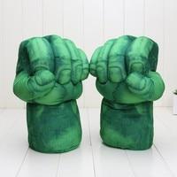 New Arrivals Cosplay Incredible Hulk Xanh Smash Hands Plush Gloves đồ chơi sang trọng