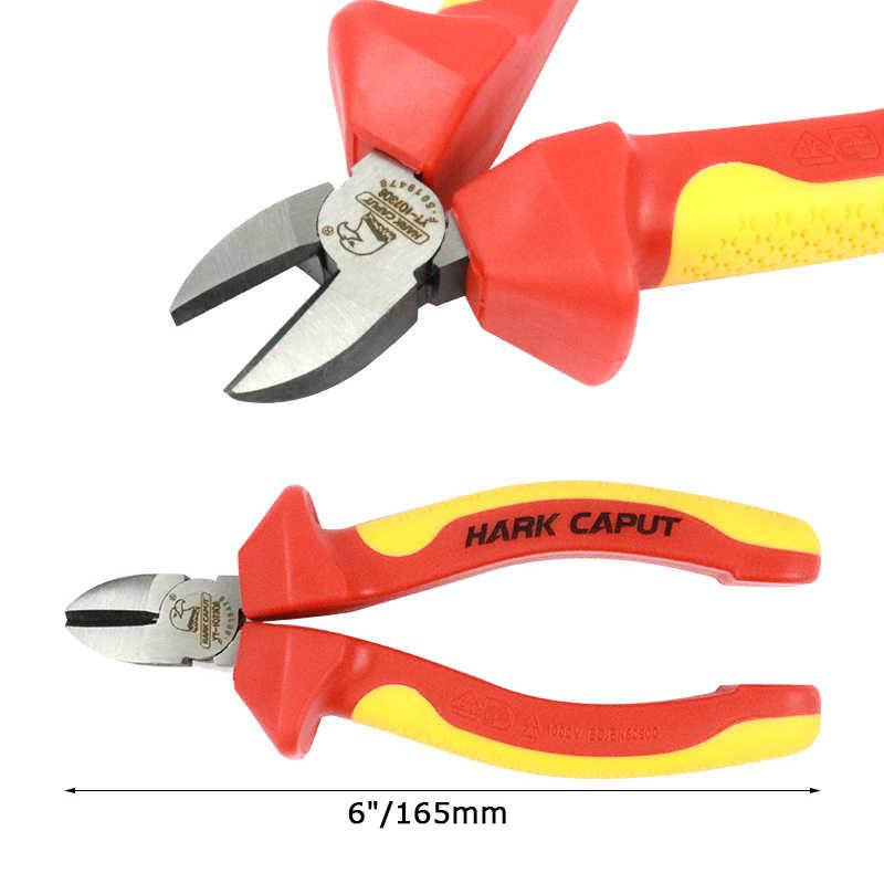 """6 """"/150 מ""""מ VDE מבודד צבת שילוב חיתוך פלייר חוט חשפנית לחיצה כלי חוט חותך רב חשמלאי יד כלים"""