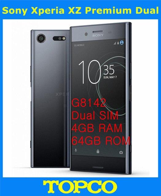 a6ed9bb7d89 Sony Xperia XZ Premium Dual G8142 Original Unlocked 4G Android Mobile Phone  Octa Core Dual SIM 5.2