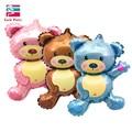 36 pulgadas gigante Teddy Bear Cartoon Foil globos niños dibujos animados forma decoraciones de fiesta de cumpleaños fiesta de la boda del bebé bolas Juguetes