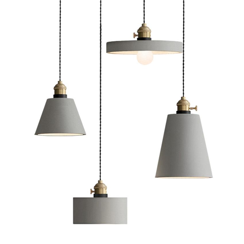 Nordic Retro Led Pendant Lamp Living Room Restaurant Cafe Bar Decor Industrial Lamp Pendant Light Fixtures Lighting Luminaria in Pendant Lights from Lights Lighting