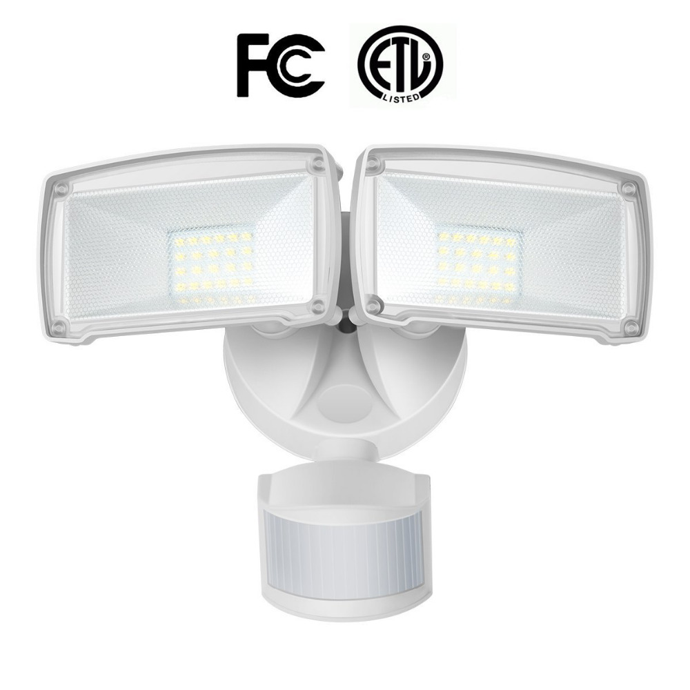 SOLLA Waterproof IP65 PIR LED Flood Light Motion Sensor Outdoor Security Light Adjustable Head Detector 5000K 120V 220V Lighting refletor led sensor light flood projecteur focos led 220v exterior outdoor lighting reflector 50w pir motion outdoor spotlight