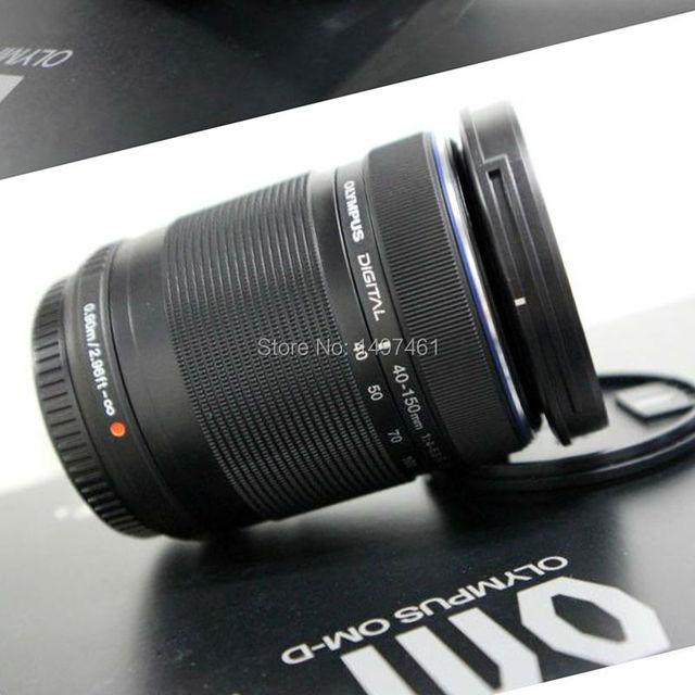 No box New M.ZUIKO DIGITAL ED 40-150mm f/4-5.6 R lens For Olympus E-PL8 E-PL7 E-PL6 E-PL3 E-PL1 EP3 EP5 E-M1 E-M5 E-M10 camera
