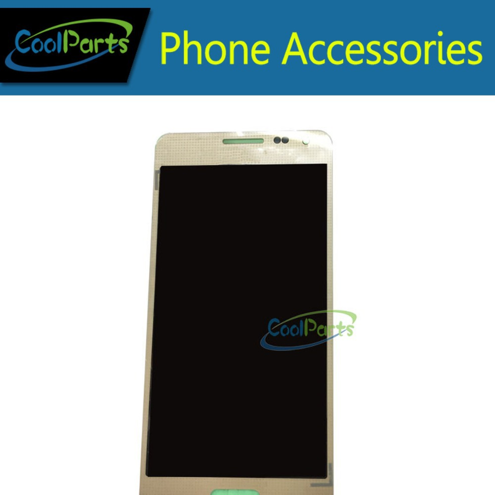 1PC/Lot Original For Samsung Galaxy Alpha G850 LCD Display Touch Screen Digitizer Assembly White Color Replacement Free Shipping lcd display touch screen digitizer assembly with frame bezel for samsung galaxy s2 i9100 white 1pc lot free shipping