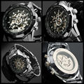 High Quality Steel Watch Hot Sale  Men Mechanical Watches  50pcs/lot DHL Free Shipping Wholesale