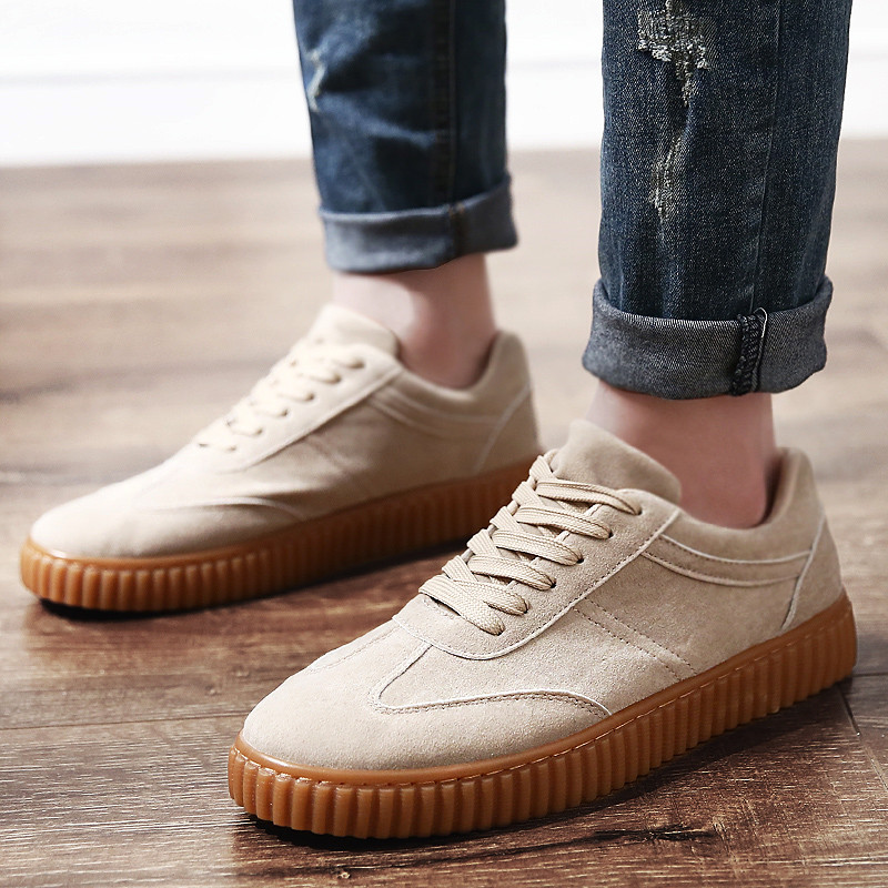 KUYUPP Men Casual Shoes quality creepers suede shoes size 39-44 luxury men shoes flats chaussure femme 2017 spring autumn Y171 (35)