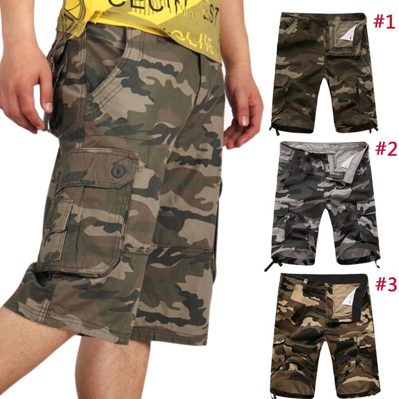 6ed7910190658 Mode D'été Hommes Shorts Militaires Cargo Camo Casual Baggy Tactique Armée  Camouflage Pantalon Court Pantalon MX8 dans Casual short de Mode Homme et  ...