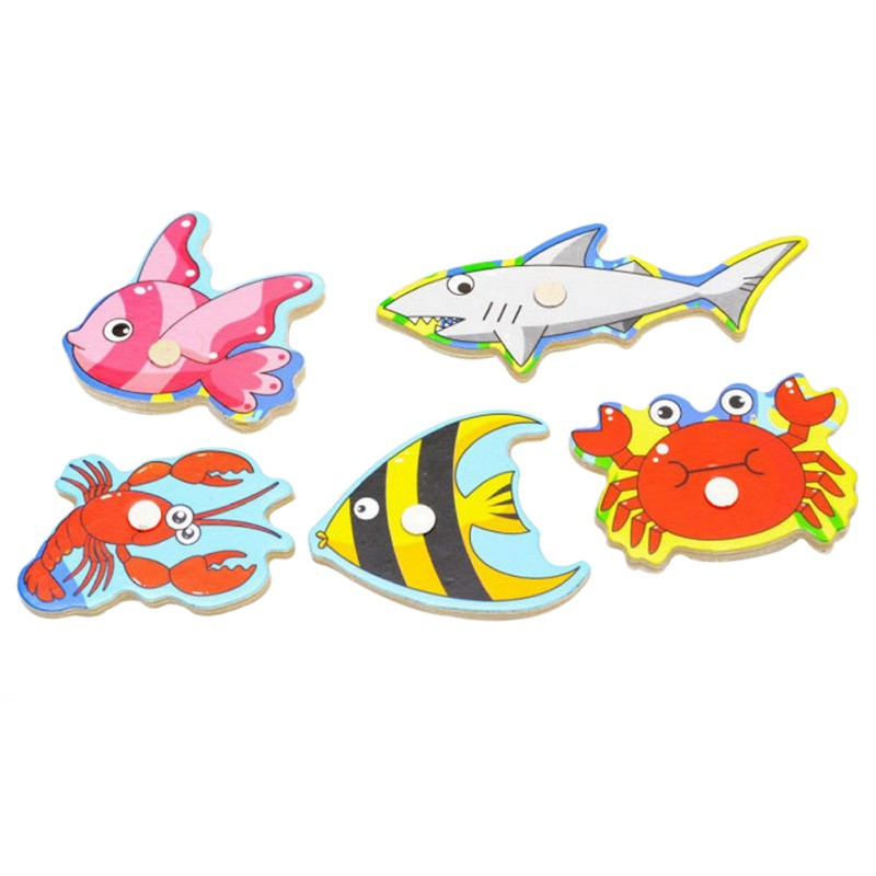 Wooden-Magnetic-Fishing-Game-Puzzle-Toys-Toddlers-Kids-Children-Educational-Fish-Parent-child-Interaction-Toy-5