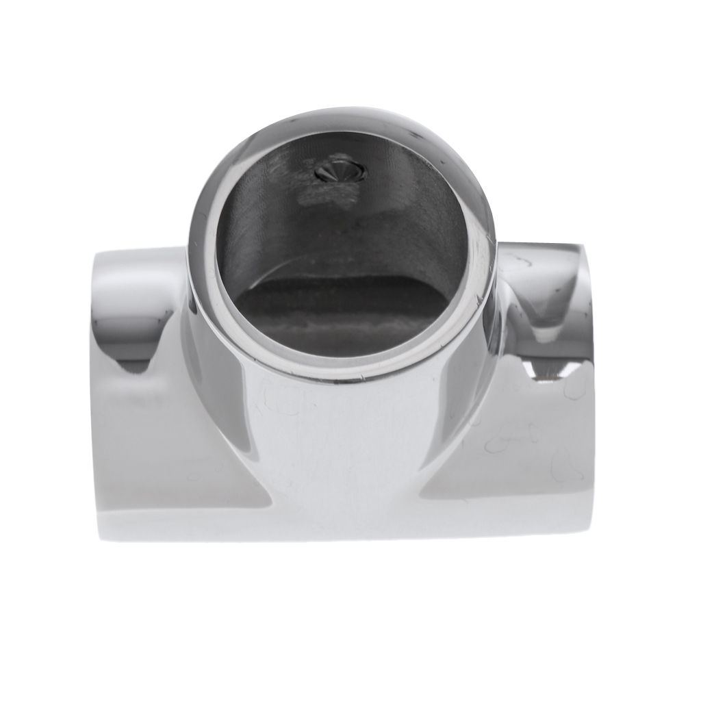 Image 4 - 25mm Boat Handrail Fittings 90 Degree Tee   Marine 316 Stainless Steel For pipe 1 inch-in Marine Hardware from Automobiles & Motorcycles