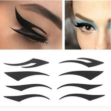 4 Styles Temporary Instant Eyeshadow Eyeliner Sticker Eye Tattoo Transfer Dance Party Maquiagem Tools & Accessories for women