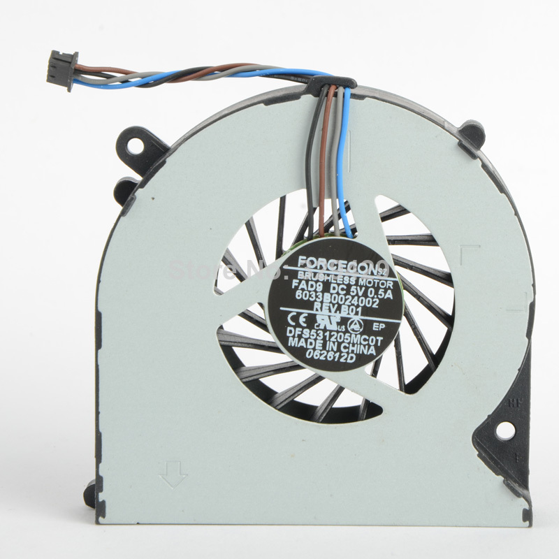 Replacements Cpu Cooling Fans Fit For HP Probook 4530S Series DC <font><b>5V</b></font> Notebook Computer Accessories <font><b>Cooler</b></font> Fans F0624 image