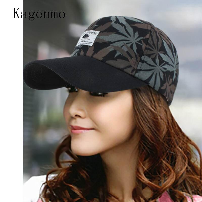 Kagenmo Women's hat baseball cap autumn and winter sun hat sunbonnet summer sun hat fashion lady visor bone short brim caps