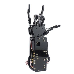Image 3 - תעשייתי רובוט זרוע ביונית רובוט ידיים גדול מומנט סרוו אצבעות עצמי תנועה מכאני יד עם לוח בקרה