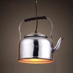 Nordic Loft di Alluminio Cina Caratteristica Bollitore Hotel Lampada Lampada Ristorante Piatto Caldo Agriturismo Sospensione Luce Del Pendente