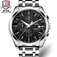 BINKADA tourbillon orologi reloj automático mecánico del mens de la marca de lujo del reloj de los hombres reloj deportivo militar suizo reloj automatik