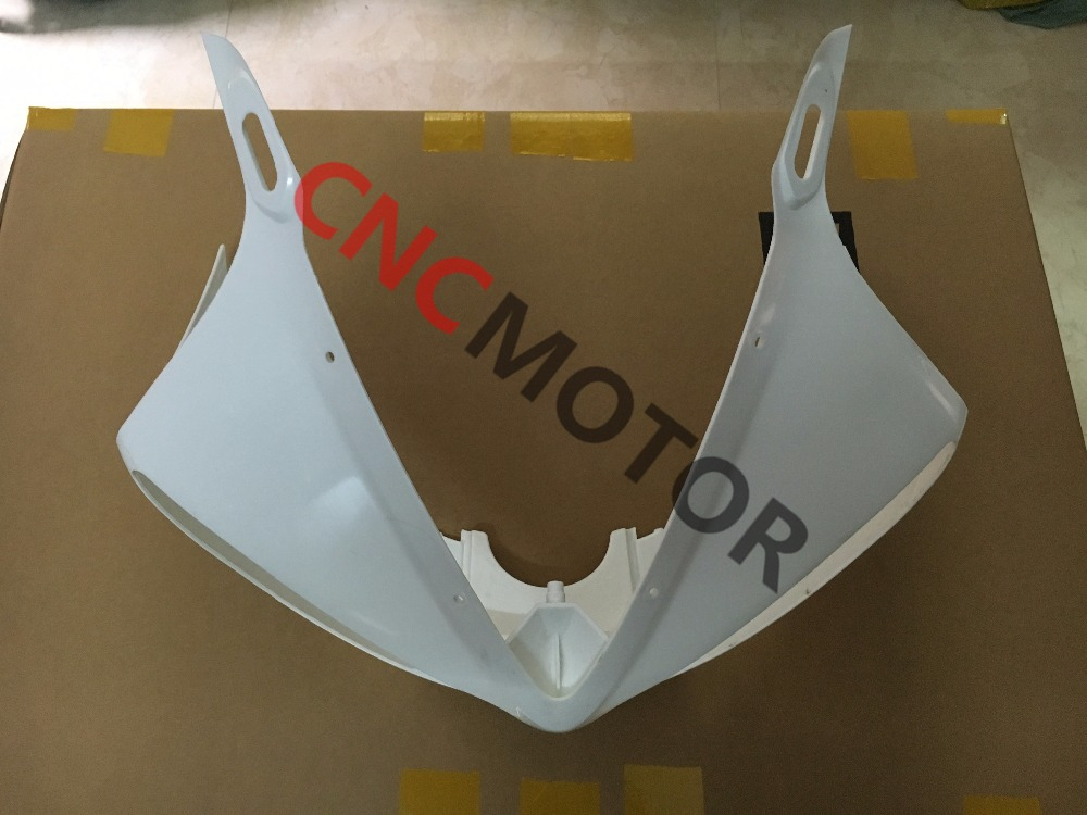 цена на Unpainted ABS Plastic Front Upper cowl nose Fairing for YAMAHA YZF R600 R6S 2006 - 2007 And R6 R600 2003 2004 2005