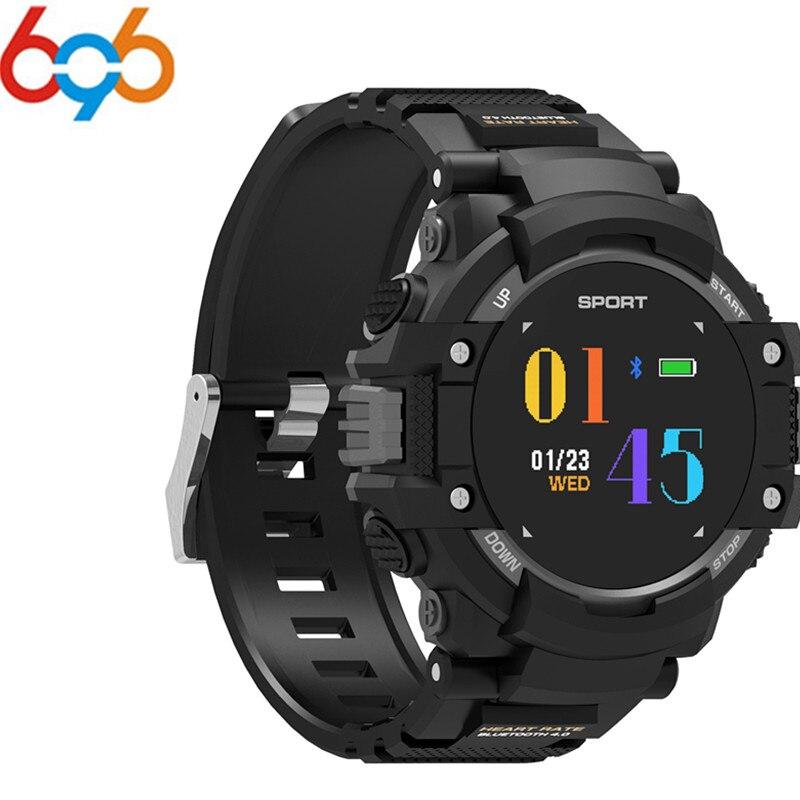 696 F7 GPS couleur OLED montre intelligente Smartwatch traqueur extérieur Multi Sports Bluetooth étanche fréquence cardiaque hommes Bracelet