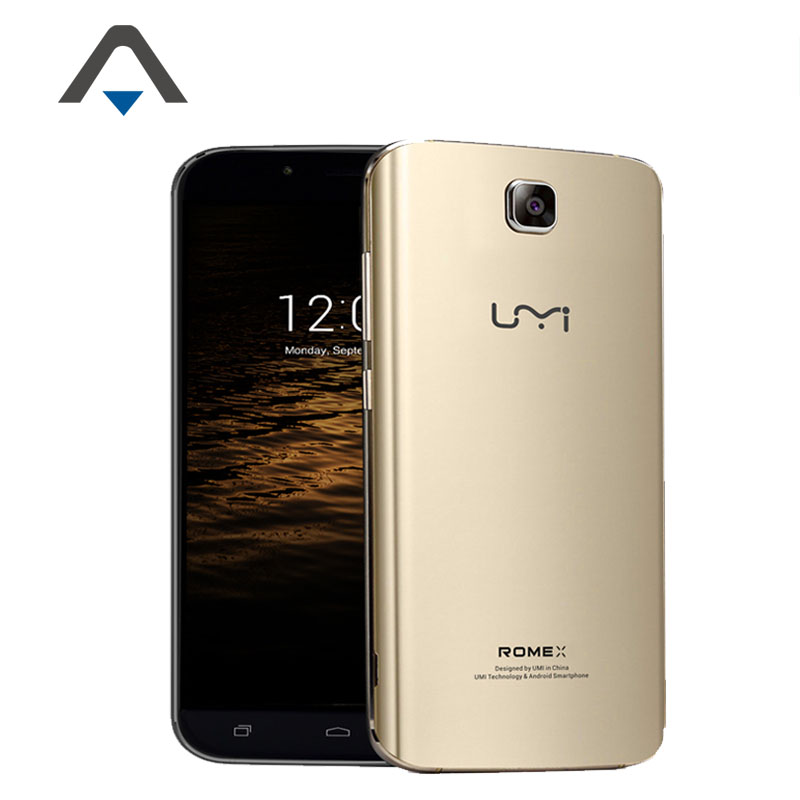 "2016 Original UMI Rome X 3G Android 5.1 phone 5.5"" 1280*720P HD MT6580 Quad Core 1G RAM 8G ROM 8.0MP in stock"