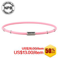 NPB Ion Balance Germanium Power Band Tourmaline Necklace P058white