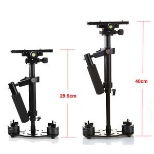 Image 2 - S40 Steadicam 40cm Mini Steadycam Pro ręczny stabilizator wideo do kamery aparat cyfrowy wideo Canon Nikon Sony DSLR