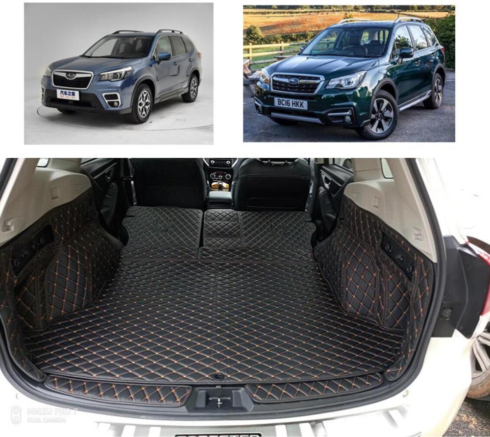 fiber leather car trunk mat for for subaru forester 2013 2014 2015 2016 2017 2018 2019 2020 car accessoriesfiber leather car trunk mat for for subaru forester 2013 2014 2015 2016 2017 2018 2019 2020 car accessories