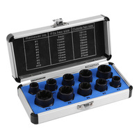 OHANEE Impact Bolt & Nut Remover extractor Set 10 Pieces