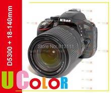 ต้นฉบับใหม่Nikon D5300 Digatal SLRกล้องร่างกายw/AF-S DX NIKKOR 18-140มิลลิเมตรf/3.5-5.6กรัมED VRเลนส์