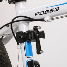 360 Degree Rotatable Bicycle Kettle Frame Bike Water Bottle Cages Cycling Holder Rack Outdoor Sports Plastic