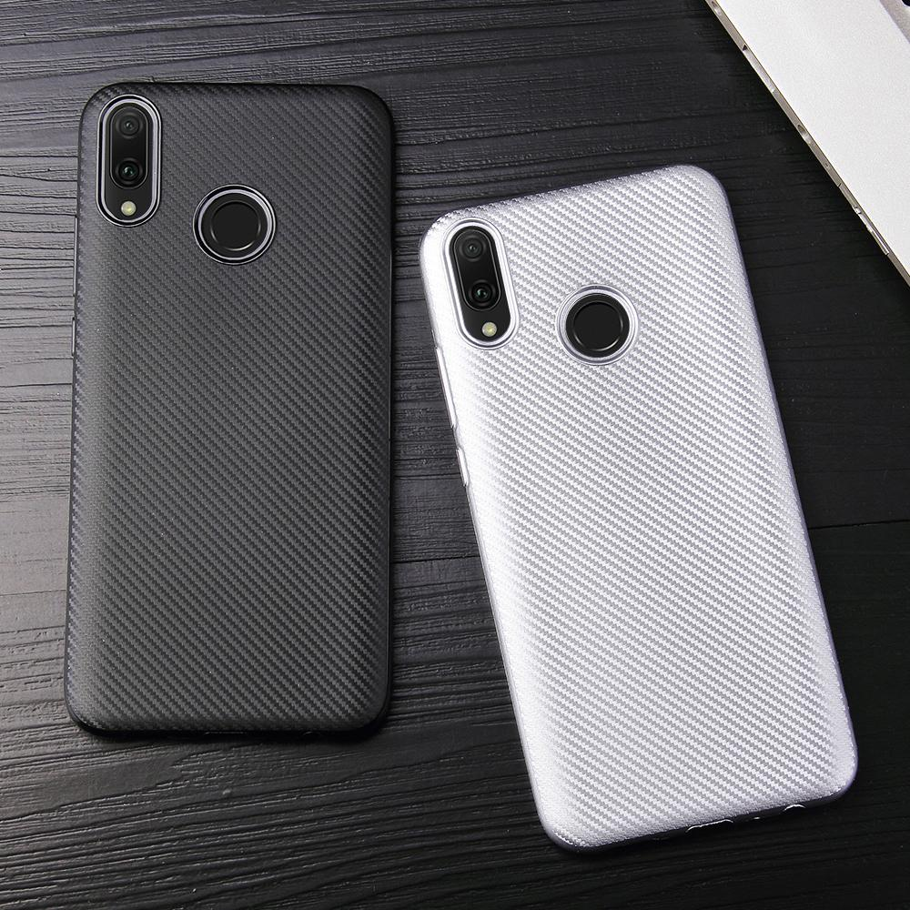 Carbon Fiber Cases For Xiaomi Redmi Note 7 Pro 6 5 5A Prime 4 4x 6A 3 5 Plus S2 Y1 Lite Y2 4X 3 Pro 3S 4 32 GB Protective Covers image