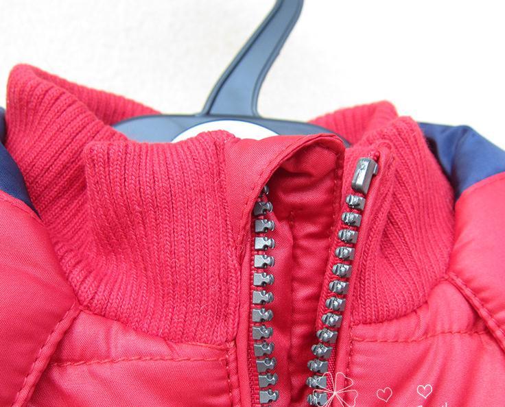Балалар 12M- 4T қызыл сыртқы пальто. - Балалар киімі - фото 3