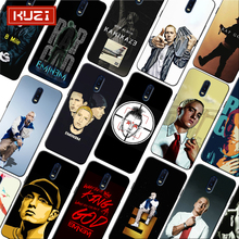 Super Rap singer Star Eminem Music Poster Soft Silicone Phone Case for oneplus one plus 7 pro 7 6 6t 5t
