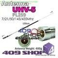 5-818-046 G-UHV-5 Mobile Antenna 7/21/50/145/435Mhz