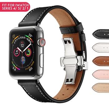 Laforuta Banda di Silicone per Apple Osservare 40 millimetri 44 millimetri iwatch Cinturino In Pelle Anello Serie 4 3 2 1 Da Polso cintura Cinturino Accessori per Articoli Elettronica Smart