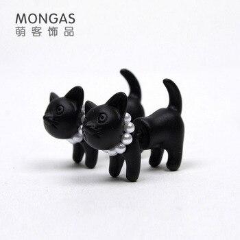 Сережки в форме кошек в ассортименте 1