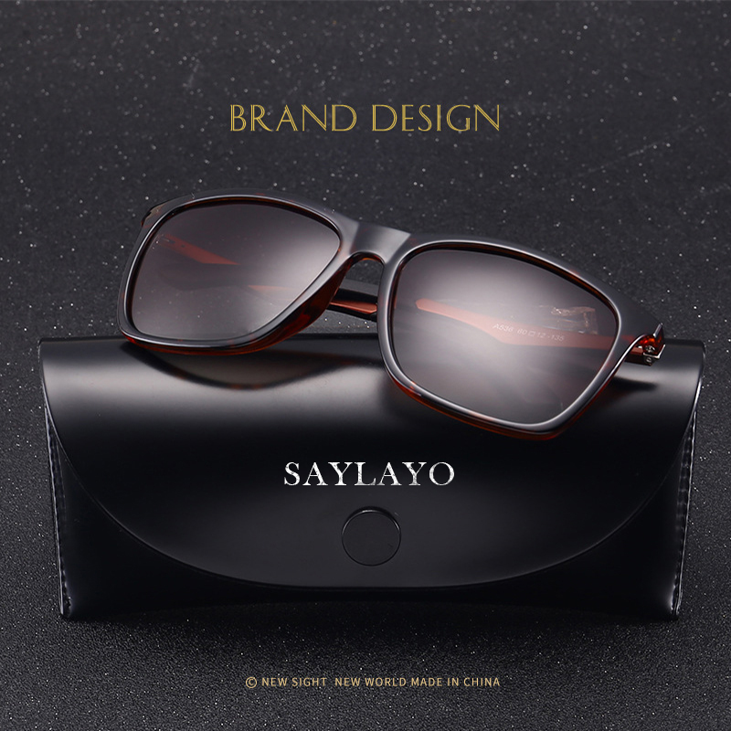 Image 3 - SAYLAYO 2019 New Vintage Fashion Polarized Sunglasses Women Car Driving Sun Glasses 100% UV400 protection retro Goggles Eyewear-in Women's Sunglasses from Apparel Accessories on AliExpress