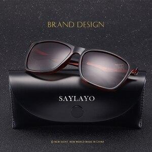 Image 2 - Saylayo Nieuwe Vintage Fashion Gepolariseerde Zonnebril Vrouwen Auto Rijden Zonnebril 100% UV400 Bescherming Retro Goggles Eyewear