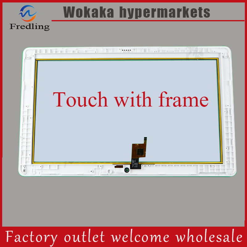 New For 10.6 inch for Teclast X16 Plus Touch Screen Tablet Touch Panel digitizer Glass Sensor Replacement Free Shipping new 10 1 inch touch screen digitizer sensor panel for lenovo ideapad miix 325 tablet glass replacement free shipping