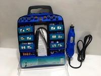 High Quality DREMEL Style Mini Grinder DIY Electric Hand Drill Machine With Soft Shaft 300pcs DIY