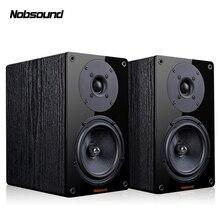 Nobsound NS-1900 дерево 100 Вт 1 пара 5,5 дюймов книжная полка динамик s 2,0 HiFi Колонка звук дома Профессиональный динамик
