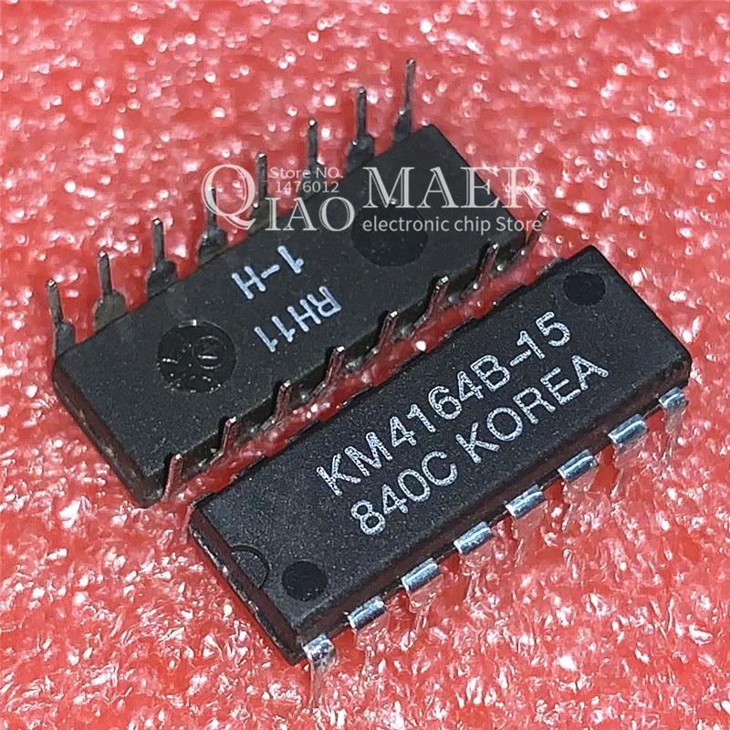 10PCS 4164 KM4164B KM4164B-10 KM4164B-12 KM4164B-15 DIP16 KM4164