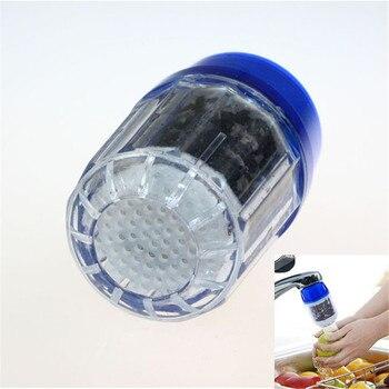 Nowe, zdrowe kran extender oczyszczonej wody z kranu kran bambusa węgiel filtr oczyszczania głowy