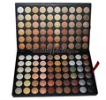Free shipping Pro 120 Full Color Eyeshadow Palette Eye Shadow Makeup 4# Warm Cosmetics Contain Matte And Shine