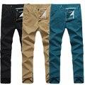Мужские повседневные штаны Мужская одежда Брюки зауженные прямые