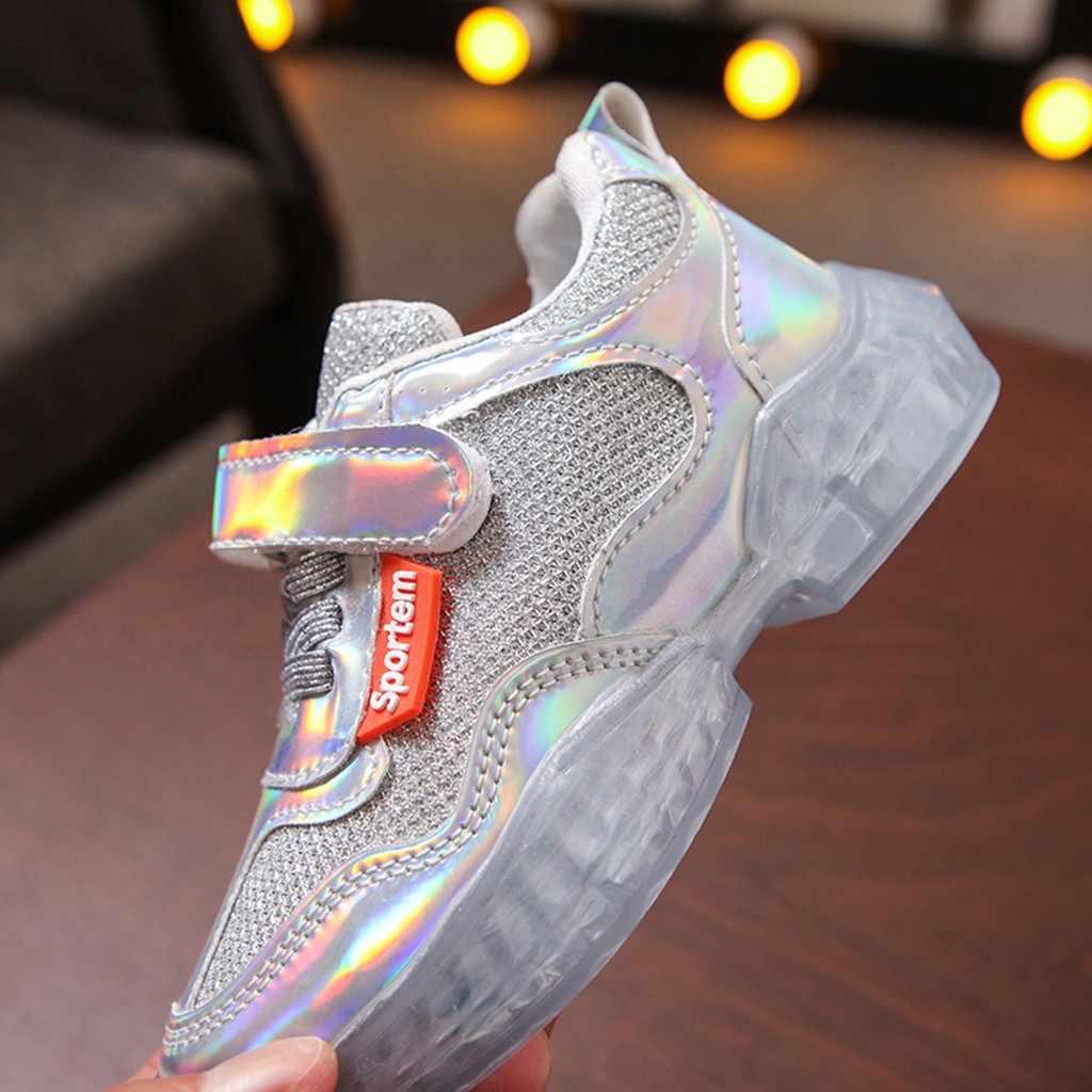ילדים חדשים נעלי לייזר עבור בנות אופנה ילדי נעליים יומיומיות פעוט סניקרס יוניסקס לנשימה תינוק ילד ספורט ריצה Zapatos