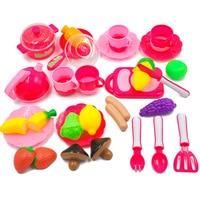 YARD Dollhouse Miniature Dining Set Kitchen Toys Kitchen Play Set Kids Kitchen Accessories
