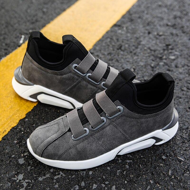 Homme La Hommes Chaussures Slip gris Adulte Qualité Marque Krasovki Sport Mode chocolat À Loisir Noir De Luxe black Haute Mâle White Usure on Facile rIIxcq5wUY